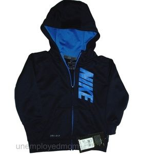 70faecad2c22 Nike Shirts   Tops - Nike Zip Up Hoodie Jacket Boys 18 Months Coat